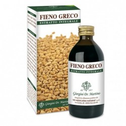 FIENO GRECO ESTRATTO INTEGRALE 200 ml - Dr. Giorgini