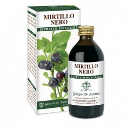MIRTILLO NERO ESTRATTO INTEGRALE 200 ml - Dr....