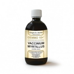GEMMO 10+ Mirtillo Nero 500 ml...