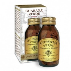 GUARANA' VERDE 180 pastiglie (90 g) - Dr. Giorgini