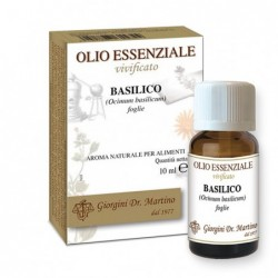 Basilico Olio Essenziale 10 ml -...