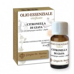 Citronella di Giava Olio Essenziale 10 ml - Dr....