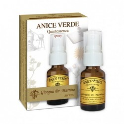 ANICE VERDE Quintessenza 15 ml spray - Dr. Giorgini