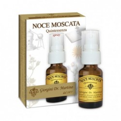 NOCE MOSCATA Quintessenza 15 ml spray - Dr. Giorgini