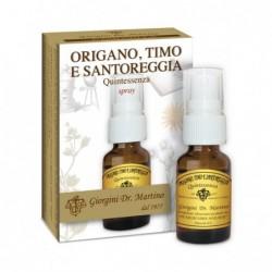 ORIGANO TIMO E SANTOREGGIA 15 ml spray - Dr. Giorgini