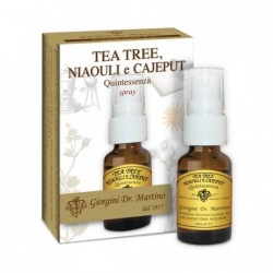 TEA TREE NIAOULI E CAJEPUT Quintessenza 15 ml spray...