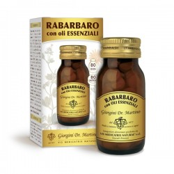 RABARBARO 80 pastiglie (40 g) - Dr. Giorgini