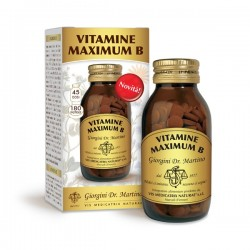 VITAMINE MAXIMUM B 180 pastiglie (90 g) - Dr.Giorgini
