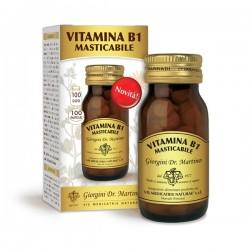 VITAMINA B1 MASTICABILE 100 pastiglie (40 g) - Dr....