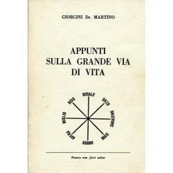 APPUNTI SULLA GRANDE VIA DI VITA - Martino Giorgini