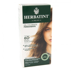 Gel Colorante Permanente 6D Biondo Scuro Dorato -...